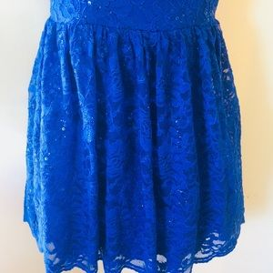 City Triangles Dresses - Electric blue cocktail dress